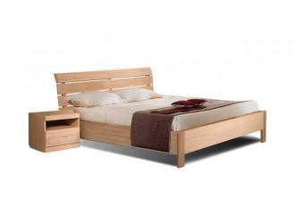 Двуспальная кровать Лайма БМ-1601 (разбеленный дуб)