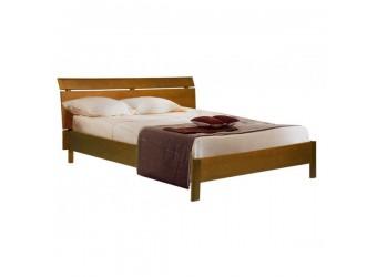 Двуспальная кровать Лайма БМ-1601-01 (натуральный дуб)