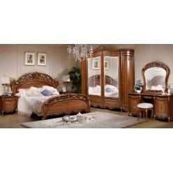 Спальня Аллегро (орех) композиция 2