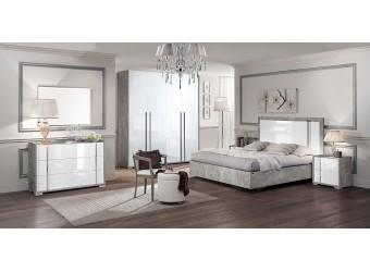 Спальня Оливия (серый беленый)