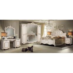 Спальня Лорена  бежевая, глянец