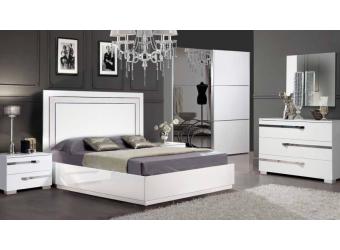 Спальня Венеция (белая)