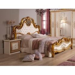 Двуспальная кровать Анита (беж)