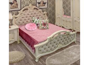 Двуспальная кровать Рафаэлла (беж)