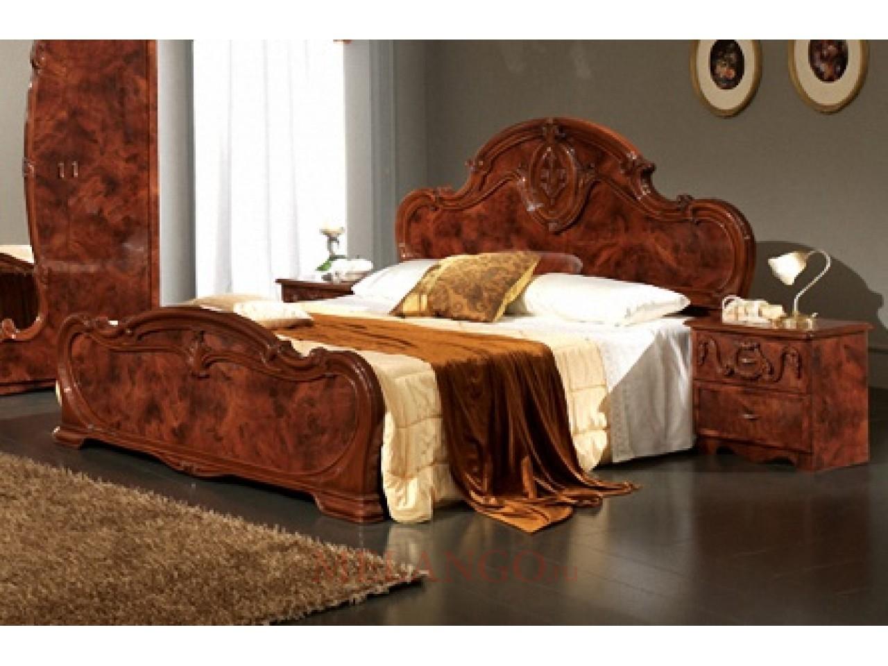 Двуспальная кровать Тициана