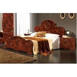 Двуспальная кровать Тициана (орех)