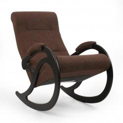Кресло-качалка Комфорт № 5 из дерева с ортопедической спинкой сборно-разборное