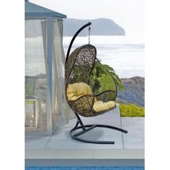 Подвесное кресло Flyhang Flying Rattan из искусственного ротанга сборно-разборное