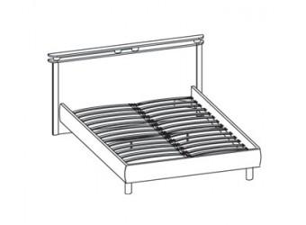 Двуспальная кровать Фристайл ФР-30/1 (140х200)