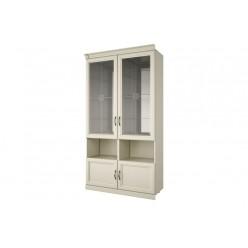 Духстворчатый шкаф-витрина Луара ЛУ-295.01в