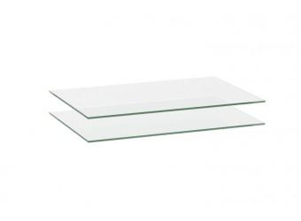 Комплект полок для тумбы ТВ Луара ЛУ-018.04 (стекло)