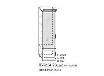 Шкаф-витрина Луара ЛУ-224.23