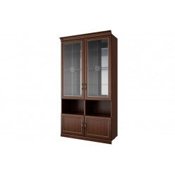 Двухстворчатый шкаф-витрина Луара ЛУ-295.01