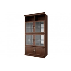 Двухстворчатый шкаф-витрина Луара ЛУ-295.04