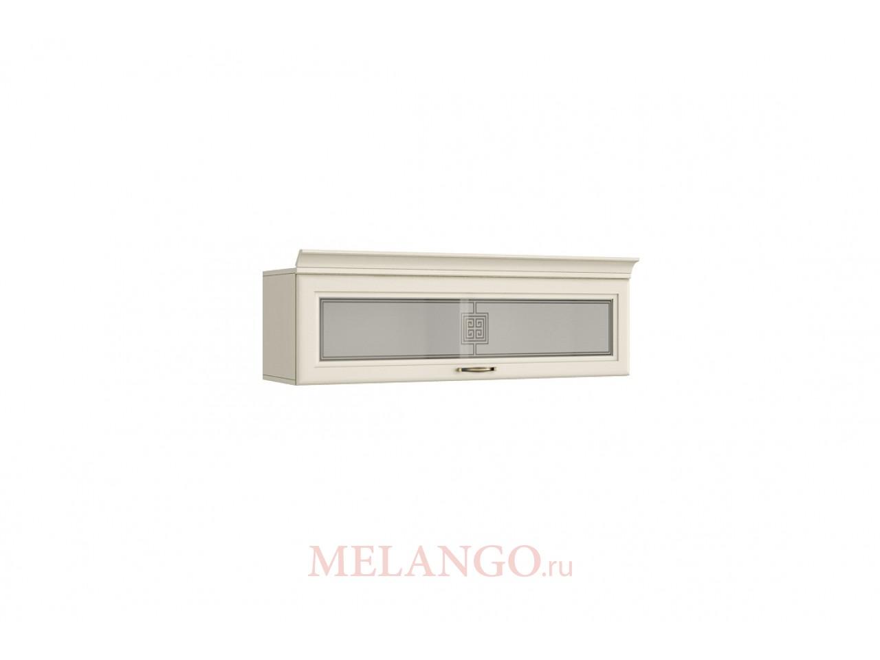 Настенный шкаф-витрина Луара ЛУ-430.01в