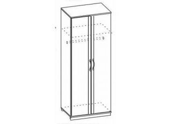 Двухстворчатый шкаф Ниола НИ-200.01