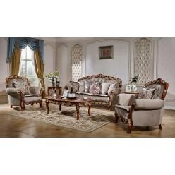 Комплект мягкой мебели для гостиной Венеция КА-МД орех