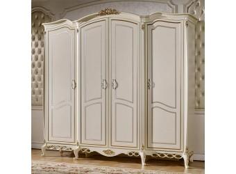 Четырехстворчатый шкаф для одежды Бьянка КА-ШК
