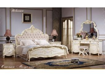 Спальня Магдалена КА-СП-2 слоновая кость