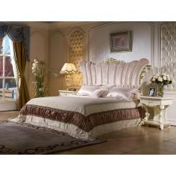 Двуспальная кровать Роял КА-ДК (слоновая кость)