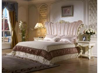 Двуспальная кровать Роял КА-ДК слоновая кость