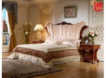 Двуспальная кровать Роял КА-ДК орех