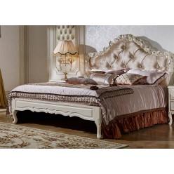 Двуспальная кровать Виттория КА-ДК жемчуг