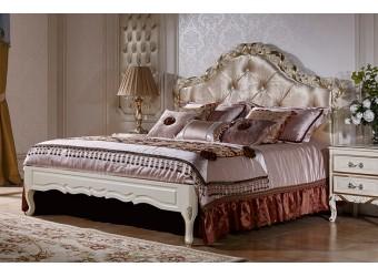 Двуспальная кровать Виттория КА-ДК золото