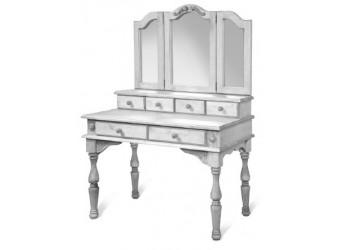 Стол туалетный с зеркалом Викинг GL (браширование)