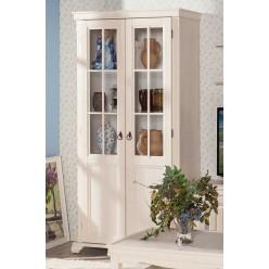 Шкаф двустворчатый в гостиную с зеркалом Амели ЛД 642.013(010/050+060)