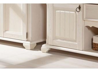 Шкаф двустворчатый в гостиную с зеркалом Амели ЛД 642.012(010/020+020)