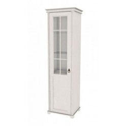 Шкаф одностворчатый стеклянный Амели ЛД 642.046(040/060)