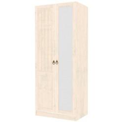 Шкаф двустворчатый с зеркалом левый Амели ЛД 642.243(240/260+290)