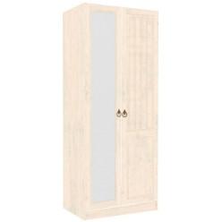 Шкаф двустворчатый с зеркалом правый Амели ЛД 642.244(240/260+280)
