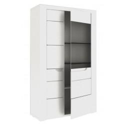 Шкаф двустворчатый малый в гостиную Белла ЛД 653.040