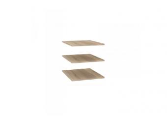 Комплект полок к одностворчатой секции Бруна ЛД 401.005