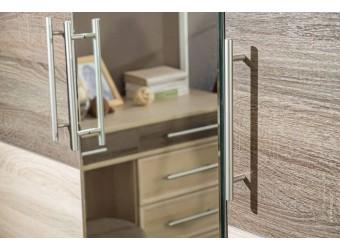 Шкаф трехстворчатый с зеркалом Бруна ЛД 631.153(150/132)