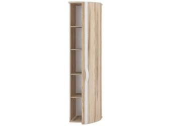 Шкаф-окончание одностворчатый правый с гнутой дверью в прихожую Марта ЛД 124.070