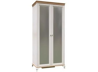 Шкаф двустворчатый с зеркалом Вилладжио ЛД 680.084