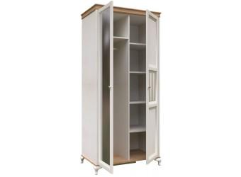 Шкаф двустворчатый с 1 зеркалом Вилладжио ЛД 680.085