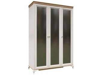 Шкаф трехстворчатый с зеркалами Вилладжио ЛД 680.098