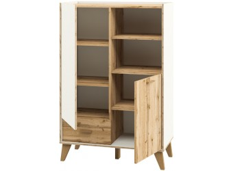 Шкаф комбинированный Сканди МН-036-07