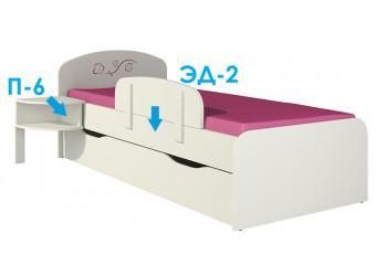 Кровать в детскую Сакура КР-3Д0 от Мебель-Неман
