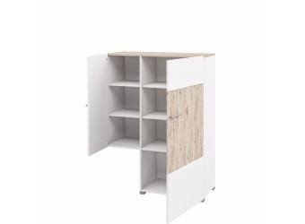Шкаф комбинированный с витриной Селена МН-224-02