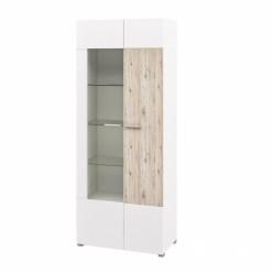 Шкаф комбинированный с витриной Селена МН-224-03