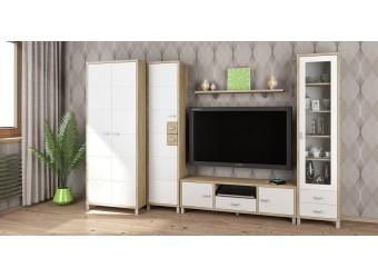 Модульная мебель для гостиной Домино Сонома композиция 3