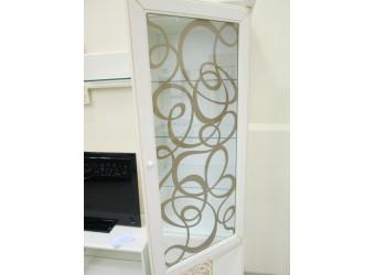 Шкаф витрина Гармония МН-120-01