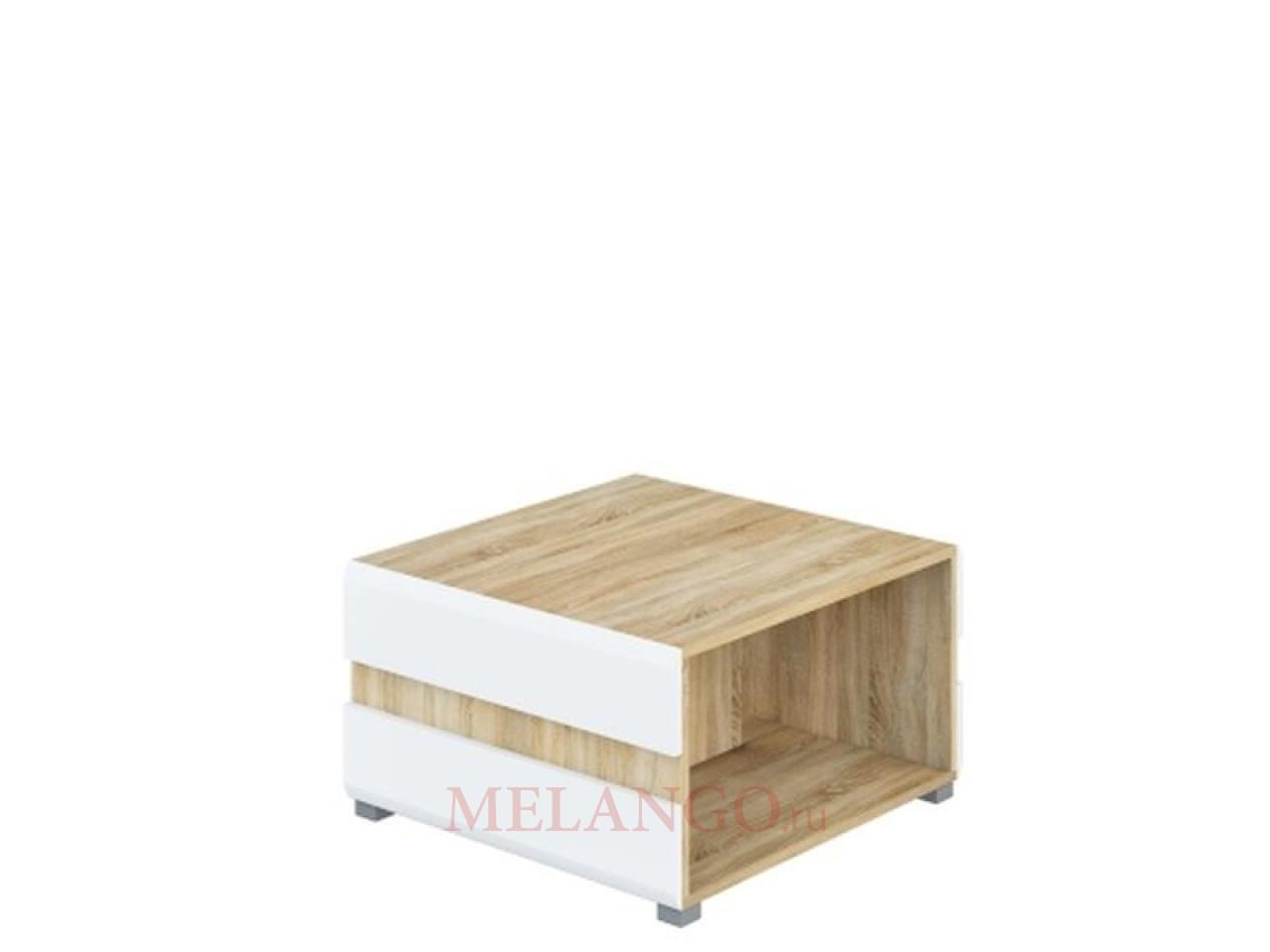 Журнальный столик Леонардо МН-026-04 белый