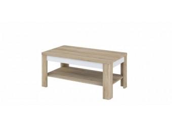 Журнальный столик Леонардо МН-221-01 белый