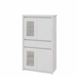 Комбинированный шкаф-витрина Палермо МН-033-05